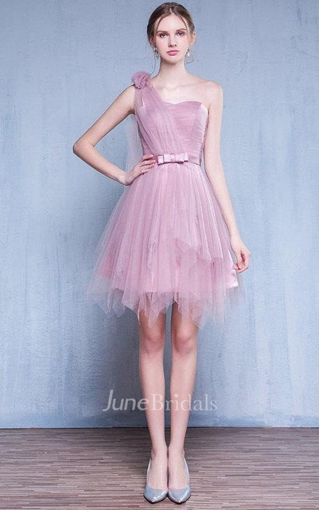 Lilac Blue Vintage Prom Evening Bridesmaid Gown Homecoming
