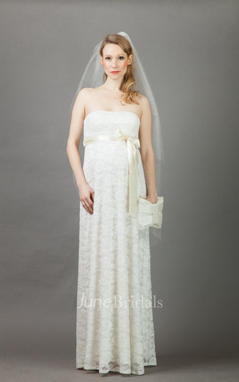 Etoile maternity wedding weddig dress june bridals for Maternity wedding dresses under 100