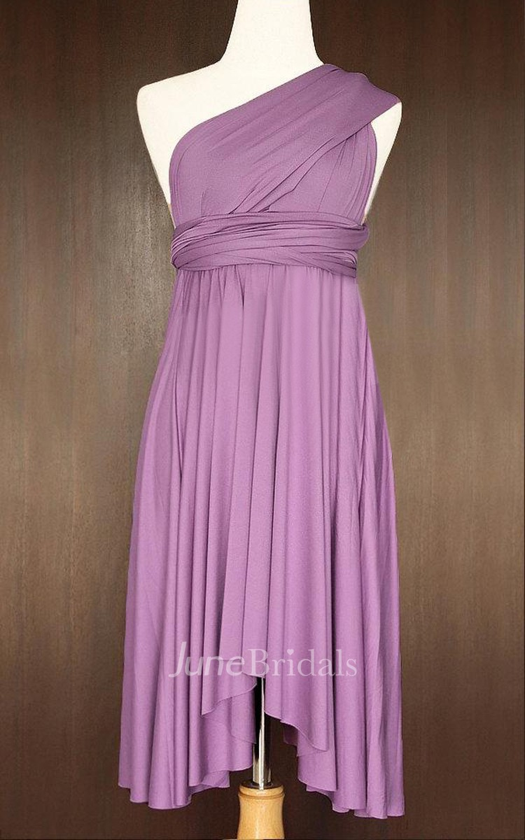 Yam bridesmaid convertible wrap twist dress june bridals for Cheap house wrap