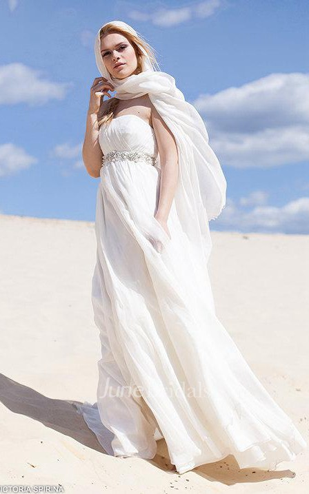 Boho Chiffon Spaghetti Floor Length Dress With Waist