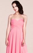 Sweetheart A-line Long Bridesmaid Dress