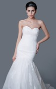 Charming Sweetheart Backless Mermaid Dress With Ruching