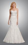 Sweetheart Mermaid Lace Wedding Dress June Bridals