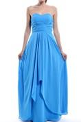 Long Sweetheart Chiffon Dress