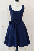 My Lady Navy Sun Vintage Design Navy Prom Party Navy Bridesmaid Vintage Tea Navy Party Sun Xs Xl Dress