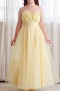 50S Tulle Vintage 1950S Prom Honeysuckle Prom Dress