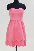 Short Sweetheart Pink Satin Dress