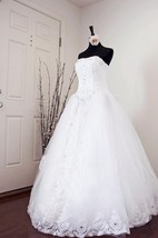 Ivory Wedding Lace Wedding White Wedding Wedding Gown Dress