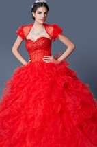Super Full Skirt Quinceanera Party Gown Sexy Elegant Style Sparkling Jewels