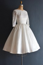 Brie 50S Wedding Vintage 1950S Wedding Dress