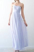 Sweetheart Criss Cross Pleated Ankle-Length Dress