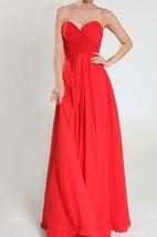 Sweetheart Empire Chiffon Floor-length Dress With Criss-Cross Pleats