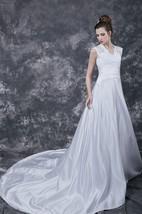 1950's Vintage Inspired Princess Style Bandage Belt Sweety Bridal Gown