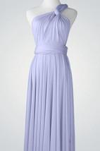 One-shoulder Short Jersey Bridesmaid Dress