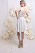 Wedding Backless Silk And Lace Weddig Dress