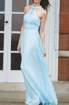 Matchimony Multiway Long Convertible Bridesmaid Made In Silk And Chiffon Over 12 Different Styles Dress