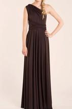 Chocolate Brown Long Infinity Bridesmaid Dress