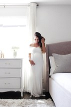 Maternity Gown Convertible Baby Shower The Fitted Wrap Dress