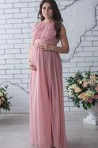 Floor-length Sleeveless Sleeve Chiffon Dress