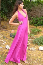 Prom Long Evening Silk Sexy Open Back Cocktail Prom Gown Backless Long Dress