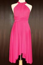 Fuchsia Bridesmaid Convertible Wrap Dress