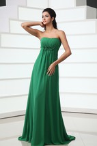 Sweetheart Sleeveless Maxi Pleated Dress With Floral Ruching