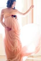Off-the-shoulder Long Sleeve Chiffon Dress With Split Front&Split