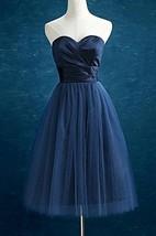 Knee-length Sweetheart Chiffon&Tulle Dress