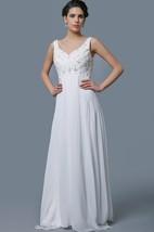 Hippy Empire Waist Elegant Sparkling Bodice Wedding Dress Casual Yet Beautiful