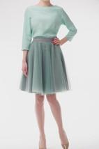 Tutu Skirt Mint Tulle Dress