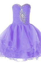 Sweetheart A-line Ruffled Dress With Sequins