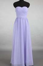 A-line Floor-length Sweetheart Chiffon Dress