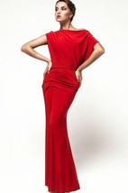 Open Back Oversized Top Sheath Formal Dress