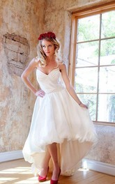 Bubble Hem Wedding Hello Dolly Weddig Dress
