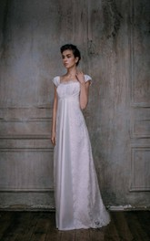 Elegant Gown Bohemian Satin Gown Lace Gown Haute Couture Grecian Syle Dress