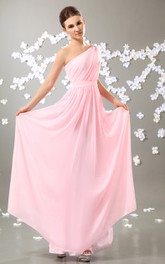 Alluring Ethereal Soft Flowing Fabric Maxi Dress With Draping