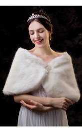Iovry Fancy Short Bridal Shawl For Fall/Winter