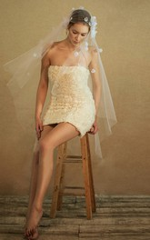 New Aesthetic Beautiful Hand-painted Long Tulle Veil