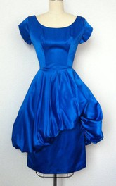60S Electric Blue Vintage Dress