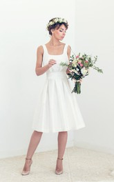 Short Open Back Wedding Tory Wedding Dress
