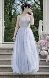 Chiffon Tulle Satin Lace Embroidered Wedding Dress