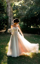 Chiffon Tulle Lace Organza Satin Taffeta Wedding Dress