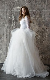 Wedding Lace Wedding Long Sleevs Wedding Vera Dress