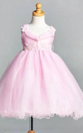 Flower Girl New Elegant Formal Summer Easter Toddler Girl Tulle Dress