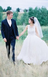 Tulle Wedding Veil Mid Length