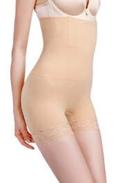Lace Nylon Short Shapewear