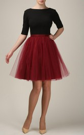 Short Burgundy Tulle Skirt Light Tulle Skirt Handmade Tutu Skirt Adult Tulle Skirt Adult Tutu Skirt Tulle Petticoat Dress
