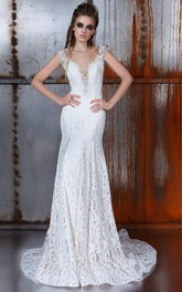 Wedding Riccarda Lace Wedding Wedding Trumpet Wedding Tank Dress
