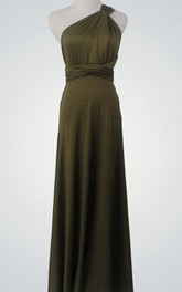 Olive Cocktail Green Bridesmaid Olive Green Cocktail Prom Party Backless Custom Made Dress