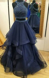 Princess Off-the-shoulder Sleeveless Sweep Brush Train Satin Dress